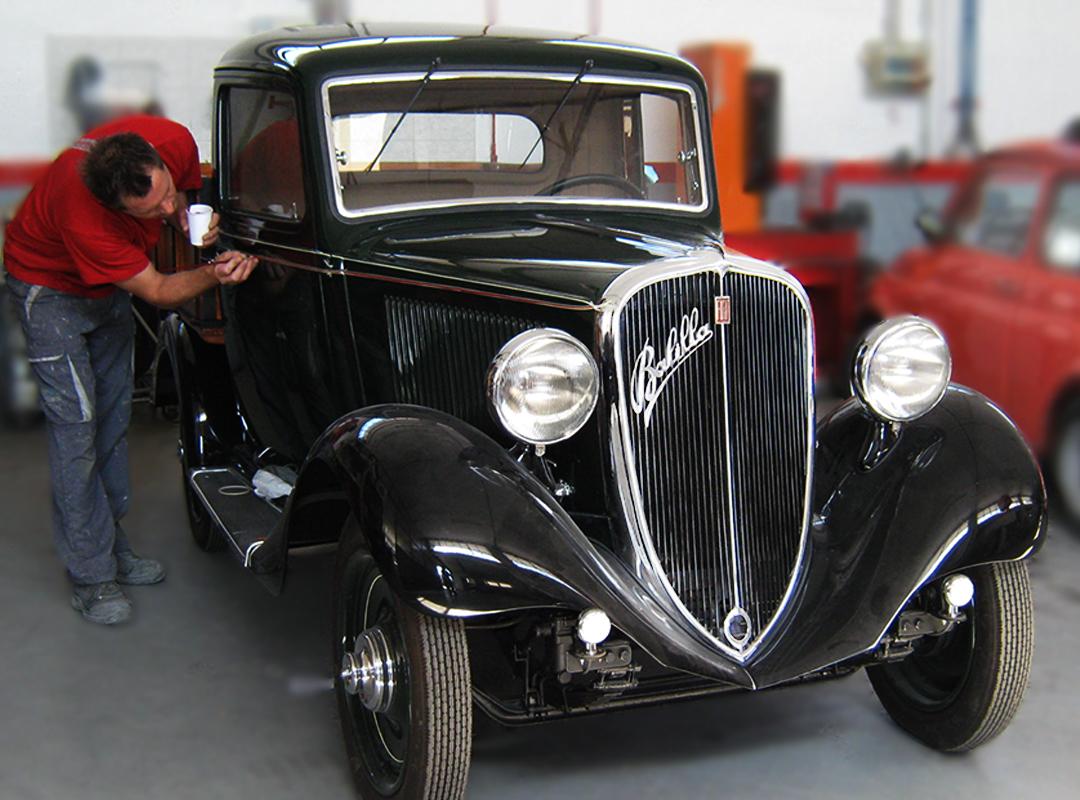Fiat Balilla </br> Autocarro
