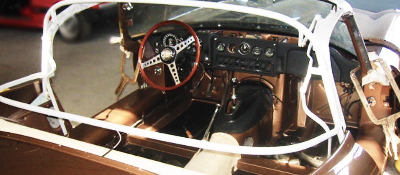Jaguar </br> E-type, XK-E, XKE